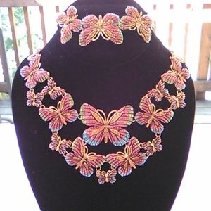 Off Park Collection Butterfly Statement Necklace